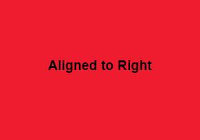 right-align